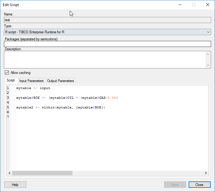 Adding Calculated Columns to a Spotfire Table Using the