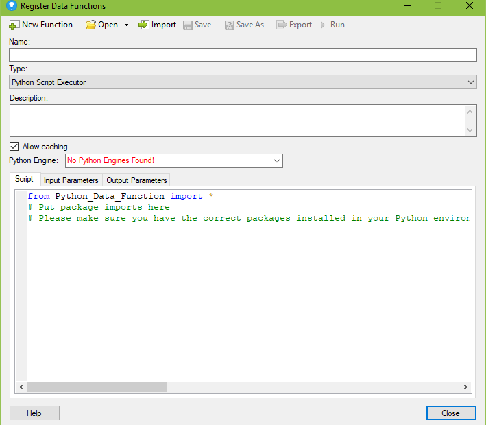 Setup to Use Python Data Functions in Spotfire » The