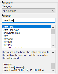 Spotfire date and time